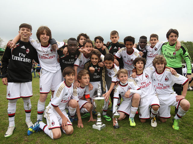AC Milan winnaar 2014